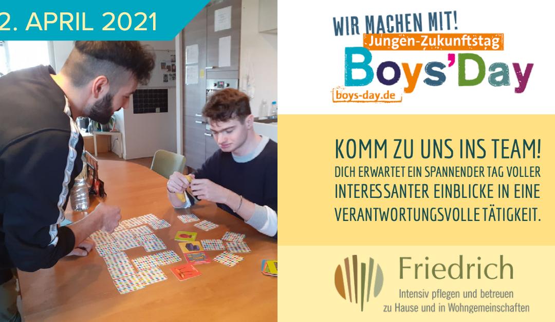 Boys Day 2021 – Wir sind dabei