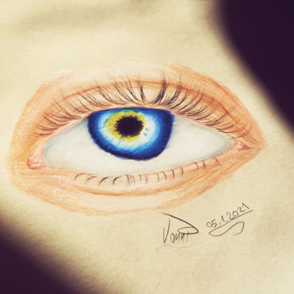 Zeichnung von Yvonne